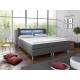 Letto LED - Łózko kontynentalne, łóżko hotelowe, łóżko małżeńskie