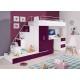 PARADISE 5  - łóżko piętrowe fiolet