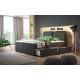Łóżko kontynentalne BORNEO - szuflady