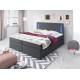 Łóżko kontynentalne CLEO - szuflady