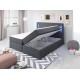 Łóżko kontynentalne CLEO - pojemniki