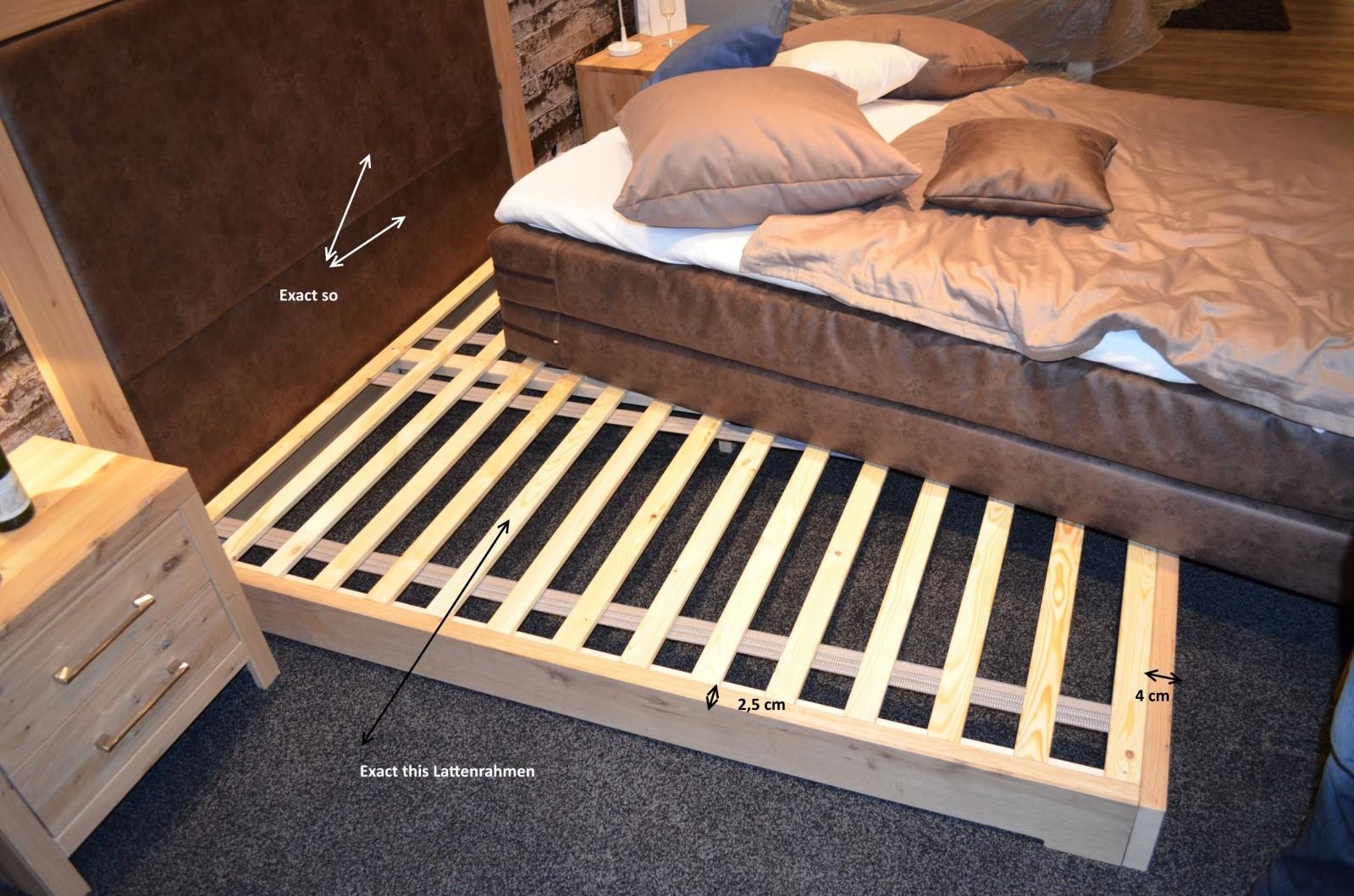 Łóżko dębowe - rama