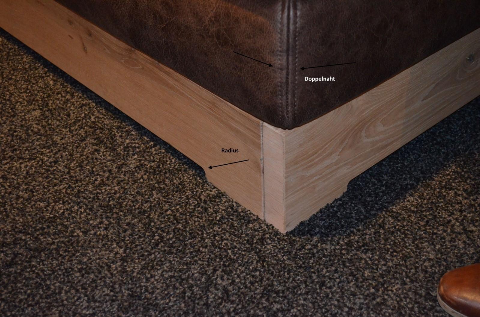 Łóżko dębowe - podstawa